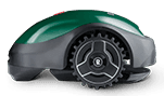 Robomow RX20u robotmaaier - zijaanzicht