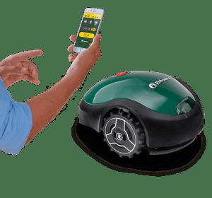 Robomow RX20u robotmaaier bediening via App