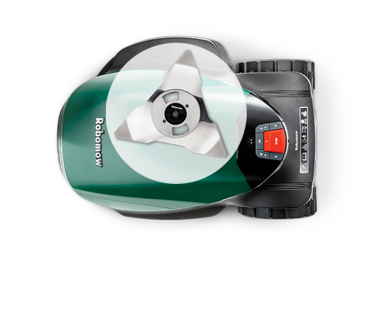 Robomow RC308u - bovenaanzicht