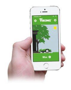 viking robotmaaier app